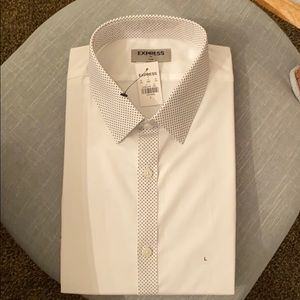Express slim fit shirt for men L